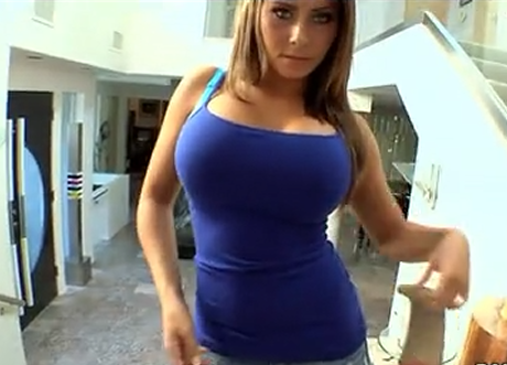 Big boobed Madison Ivy killer blowjob