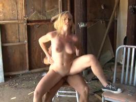 Really hardcore blonde slut