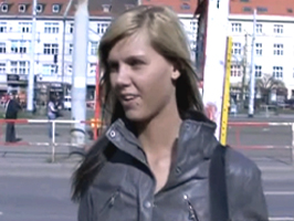 Ilona takes cash for public sex