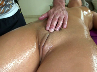 Friendly massage goes a little too far