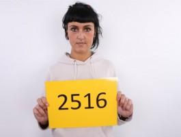 CZECH CASTING - Beautiful Brunette Kristyna gives a head