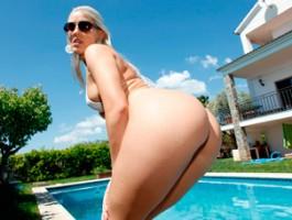 European slut Blanche Bradburry has a big ass