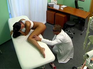 Doctor gets caught balls-deep in patient