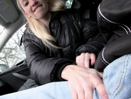 Mofos - Euro girl Mina loves car sex