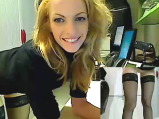 MFC - New secretary caught masturbating on the job