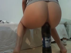 Epic Teen Coke Masturbation