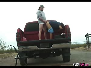 Redneck Sex In A Pickup Truck