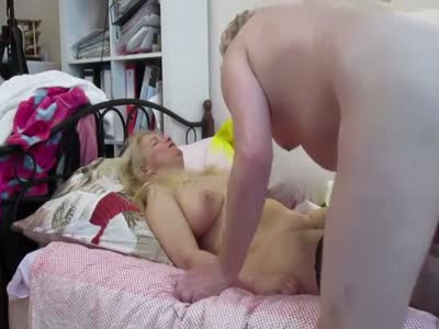 Tania Blonde Russian MILF Has Missionary Sex