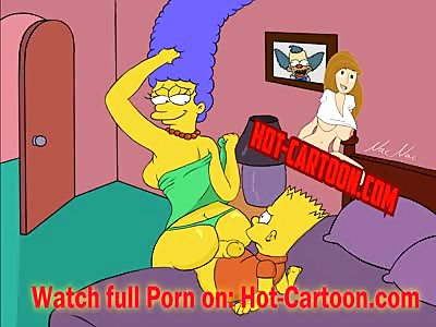 Simpsons Porn #1 Bart fuck Marge Cartoon Porn HD