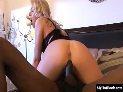 Zoey Monroe is a stammeringly hot blonde who loves getting fucked by big