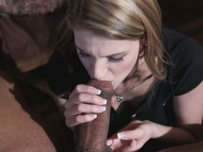 Cute Hope Harper gets destroyed by Shane Diesel's huge black cock