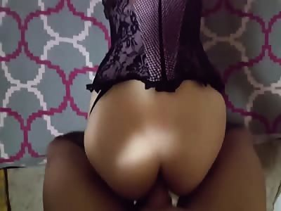 Sexy great butt takes it up the ass