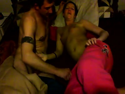Wife and my buddy in cuckold video