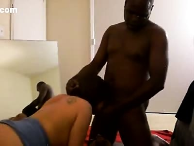 Hubby and wife share his black cum