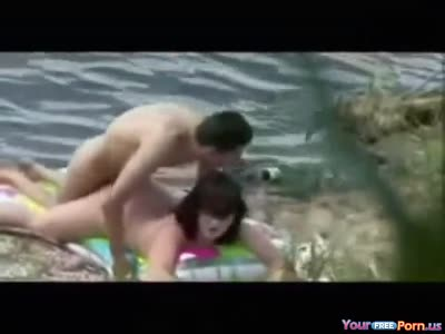 Voyeur tapes teens fucking at the lake