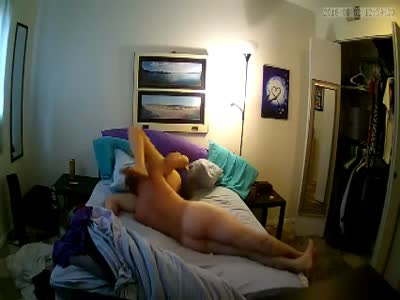 Fucking big ass my step sister on spy cam