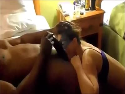 White wife worships the black cock