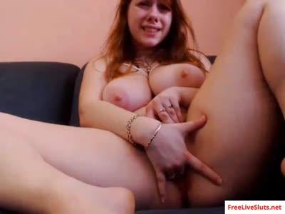 Amateur BBW whore masturbates to orgasm