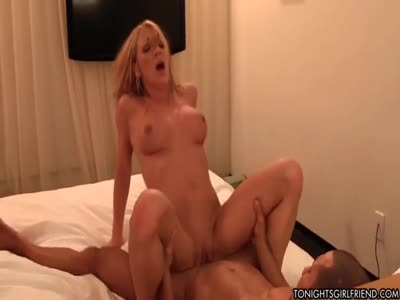 He gives her the gift of a monstrous load to the face
