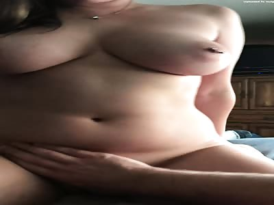 Ashley tits pov riding