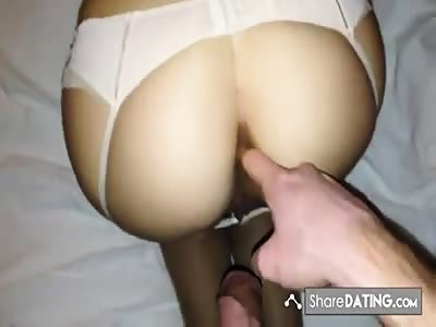 homemade anal sex with an Australian wife