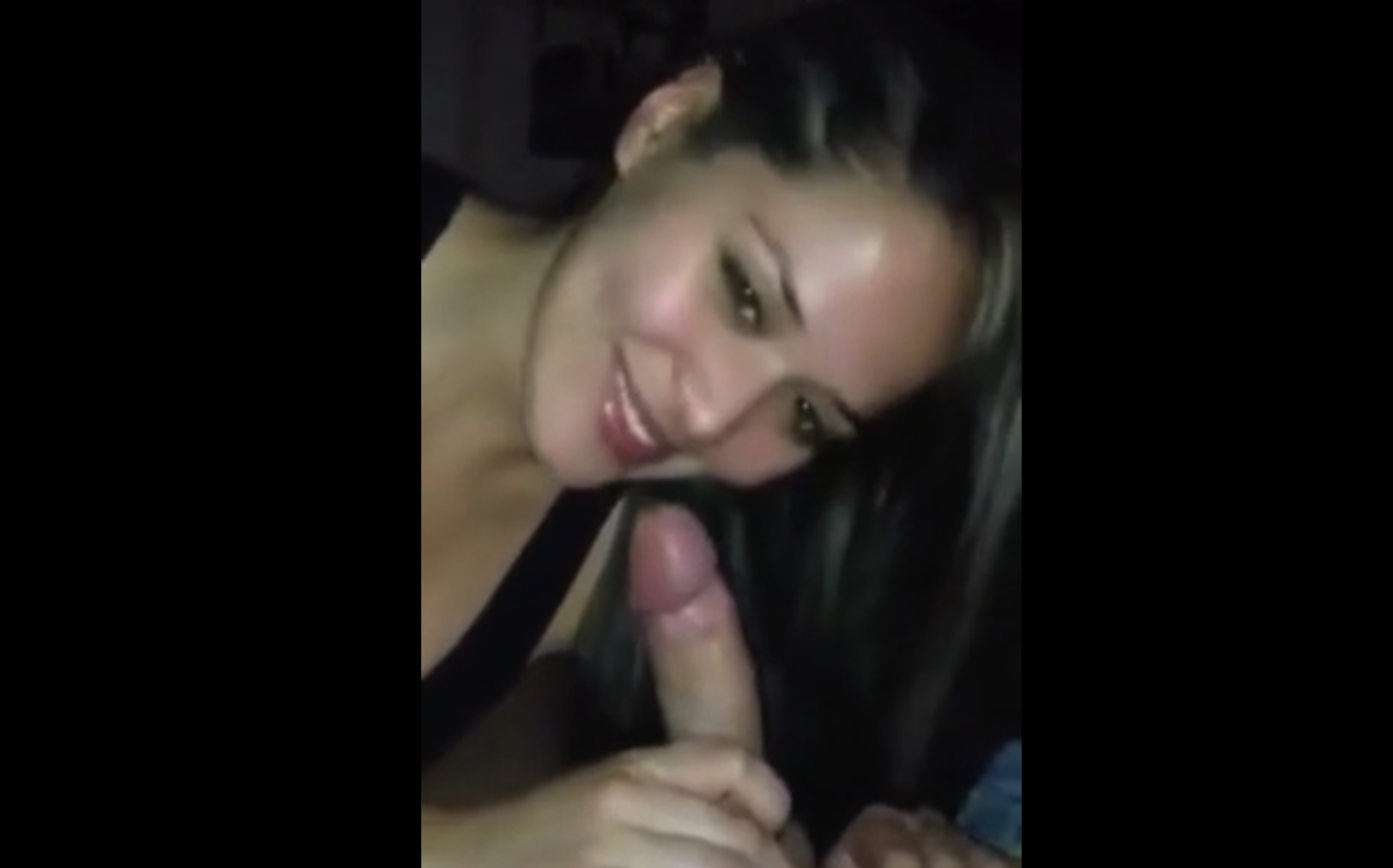 Drunk Babe BJ after a night in the disco