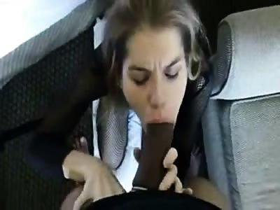 Very thick BBC stretches her mouth and jizzes her face