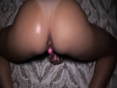 Licking her sweet pussy and filling her with cum
