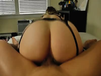 Perfect hot fuck in stockings