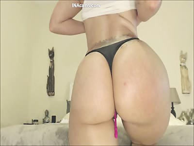MOANING Cowgirl Ride w Oiled Big Ass Latina Amateur