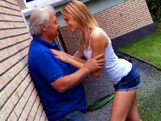 Neighbor's daughter is one horny girl