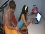 Teenie tiny little teen amateur gets her hole abused